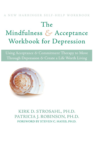 The Mindfulness and Accepance Workbook for Depression Book Cover