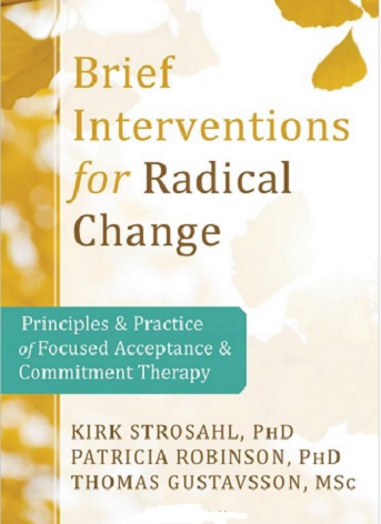 Brief Interventions for Radical Change Book Cover